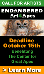 Art For Apes Endangered Exhibit