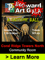 Boo-ward Art Gala: A Costume ball