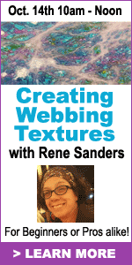 Webbing Workshop with Rene Sanders